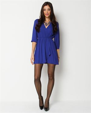 Innovation Wrap V-Neck Dress $29