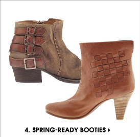 4. SPRING-READY BOOTIES