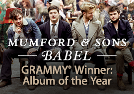 GRAMMY® Album of the Year: Babel by Mumford & Sons