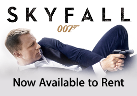 Skyfall - Now Available to Rent