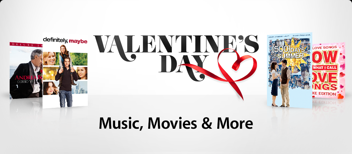 Valentine's Day - Music, Movies & More