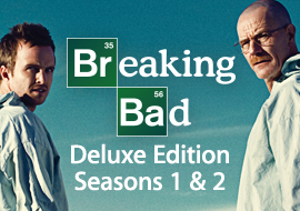 Breaking Bad - Deluxe Edition Seasons 1 and 2