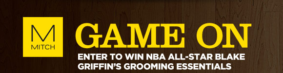 Game On: Enter To Win NBA All-Star Blake Griffin's Grooming Essentials