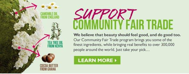 Support Community Fair Trade  --  Find a store