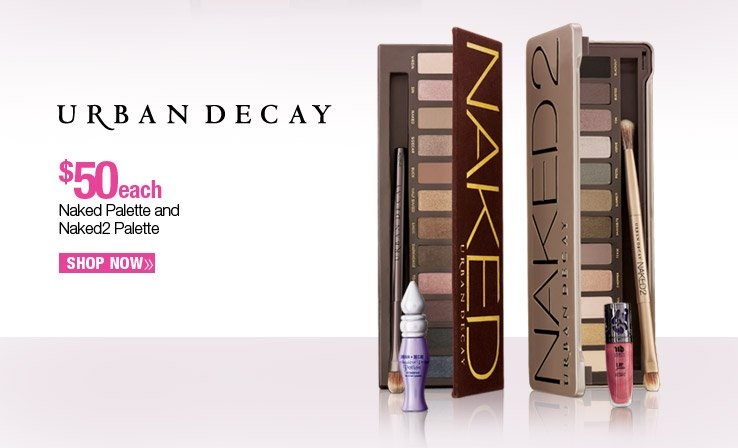 Urban Decay Naked and Naked2 Palettes - $50 each