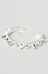 The Spike Bangle in Silver
