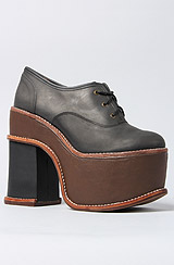 The Simon Shoe in Black and Brown