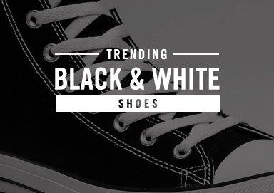 Shop Trending: Black & White [Shoes]