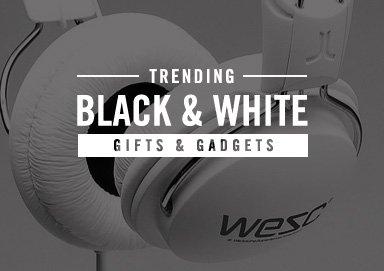 Shop Trending: Black & White [Gadgets]