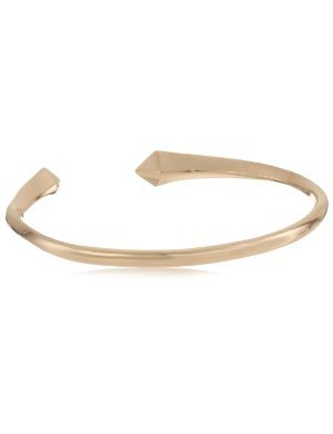 Made Her Think <br/>Gold Vermeil Open Spike Cuff Bracelet