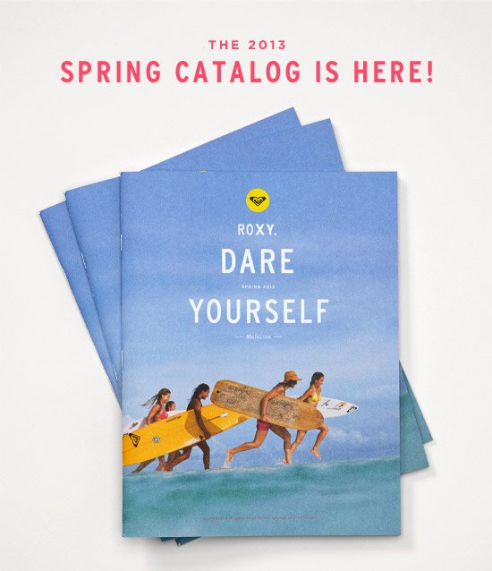 The 2013 Spring Catalog is Here!