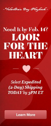 Valentine Expedited Shipping