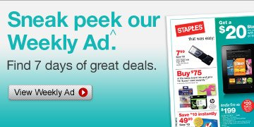 Sneak  peek our Weekly Ad.ˆ Find 7 days of great deals. View Weekly  Ad