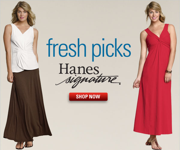 Hanes Signature for Spring