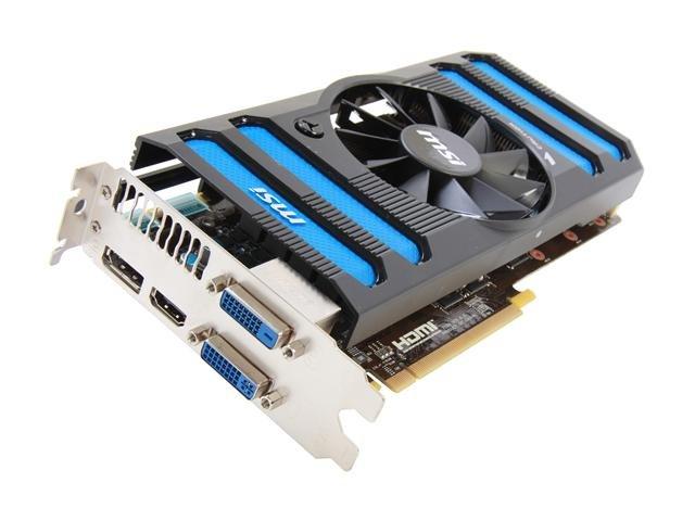 MSI N660TI-2GD5/OC GeForce GTX 660 Ti 2GB 192-bit GDDR5 PCI Express 3.0 x16 HDCP Ready SLI Support Video Card