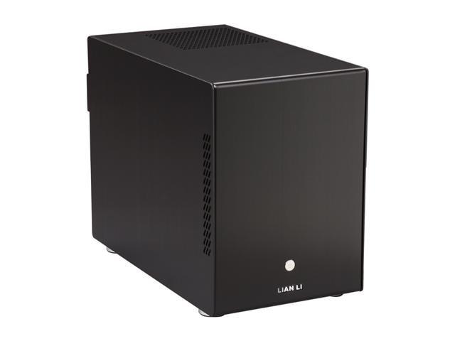 LIAN LI PC-Q25B Black Aluminum Mini-ITX Tower Computer Case