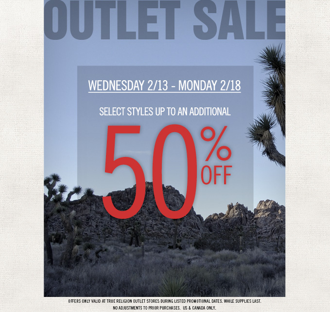 President's Day Outlet Sale Starts Now: Up To An Additional 50% Off Select Styles