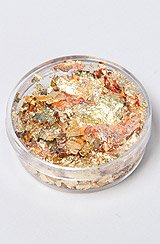 The Nail Art Foil Flakes in Gold