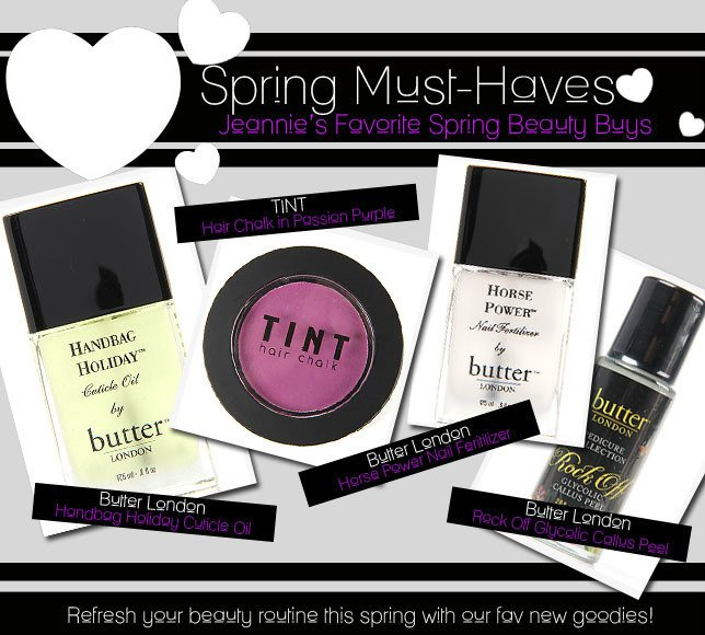 Jeannie's Favorite Spring Beauty Buys
