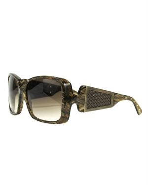 Bottega Veneta BV90S3N5 Oversized Square Sunglasses