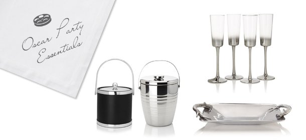 OSCAR PARTY ESSENTIALS FROM FLUTES TO TRAYS, Event Ends February 16, 9:00 AM PT >