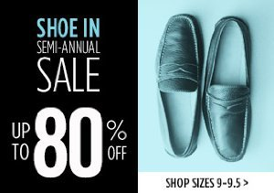 UP TO 80% OFF SIZES 9-9.5