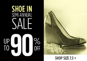 UP TO 90% OFF SIZE 7.5