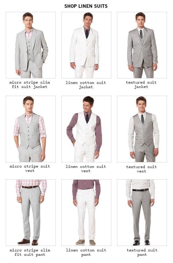 Shop Linen Suits