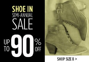 UP TO 90% OFF SIZE 8