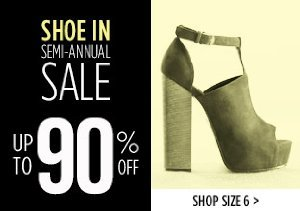 UP TO 90% OFF SIZE 6