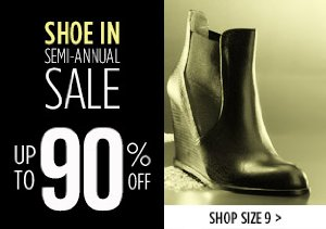 UP TO 90% OFF SIZE 9