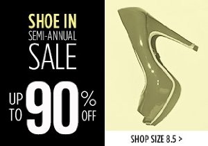 UP TO 90% OFF SIZE 8.5