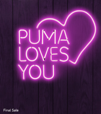 PUMA LOVES YOU