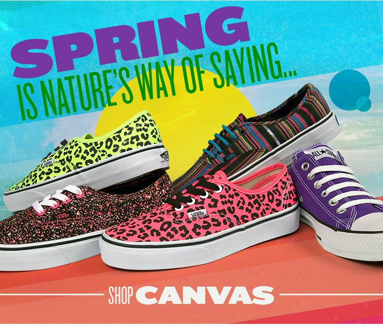 Spring is around the corner and our canvas collection is about to grow!