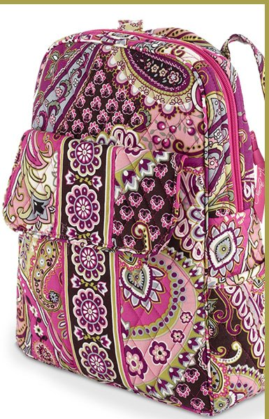 Backpack in Very Berry Paisley