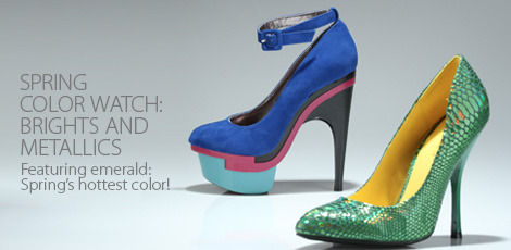 Spring Color Watch - Metallics and Brights