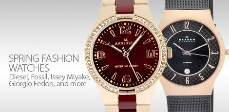 Spring Fashion Watches