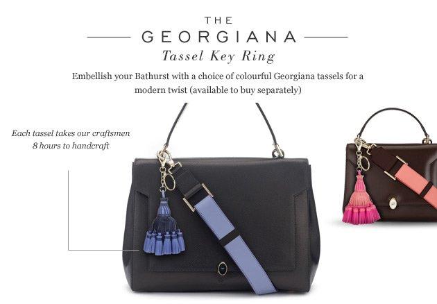 The Georgiana Tassel Key Ring