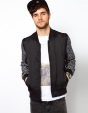 ASOS Reversible Bomber Jacket
