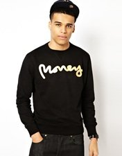 Money Crew Sweatshirt Sig Ape Foil Print