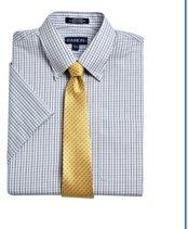 Damon Ultra Poplin Stripe Dress Shirt