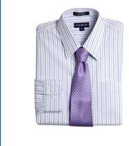 Damon® Multi-Stripe Poplin Dress Shirt