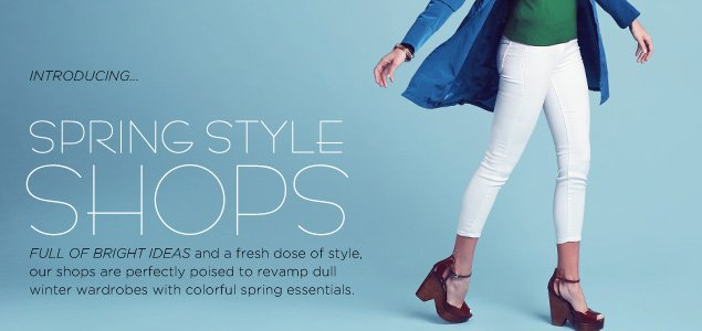 Spring Style Shops