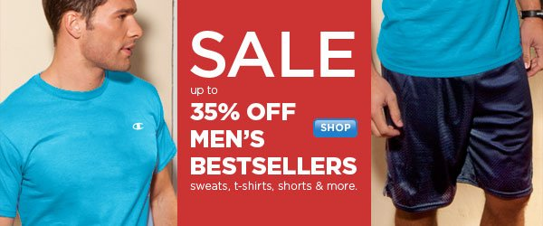 SHOP Men's Bestsellers SALE