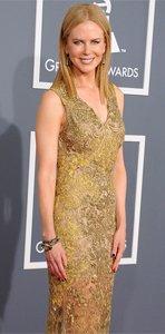 Nicole Kidman Grammys 2013 Vera Wang