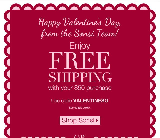 Shop Sonsi Enjoy Free Shipping