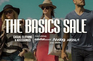 The Basics Sale