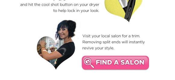 Find a salon.