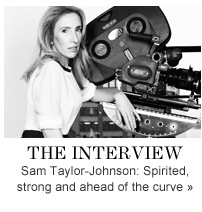 THE INTERVIEW Sam Taylor-Johnson: Spirited, strong and ahead of the curve