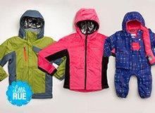 For the Last Run Kids' Ski Jackets & Snow Boots